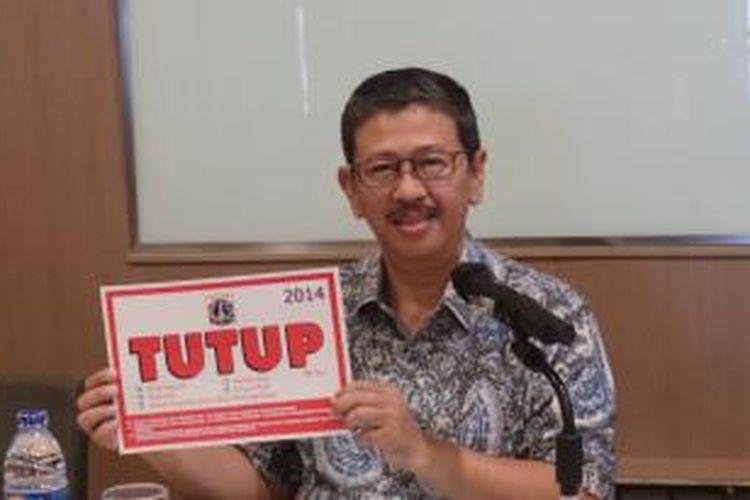 Kepala Dinas Pariwisata dan Kebudayaan DKI Jakarta Arie Budhiman, Kamis (19/6/2014), melakukan sosialisasi tentang tempat hiburan yang harus mengikuti ketentuan jam operasional selama Ramadhan.