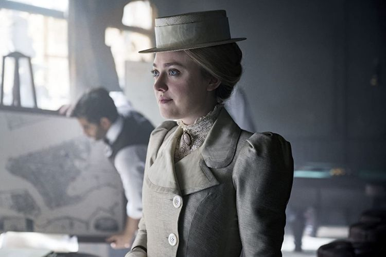 Dakota Fanning dalam serial drama The Alienist (2018).