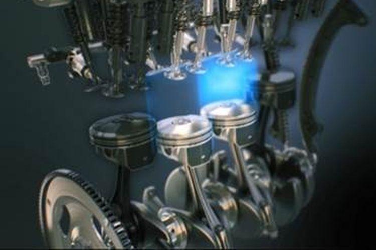 Mazda CX-5 kini punya fitur cylinder deactivation, yang memungkinkan mesin tetap bekerja dengan hanya mengaktifkan dua silinder dari mesin 4-silinder yang digunakan.