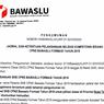 Berikut Jadwal Pelaksanaan dan Lokasi Tes SKB CPNS 2019 Bawaslu
