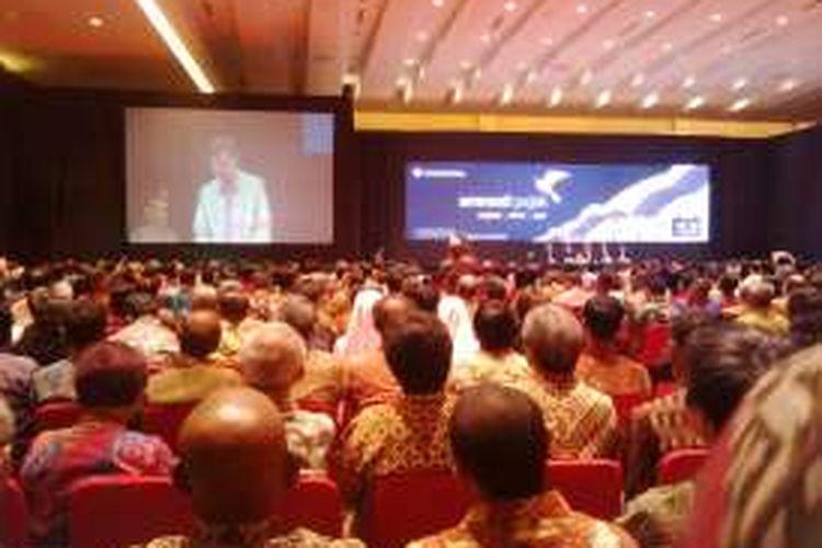 Sosialisasi Tax Amnesty di Medan oleh Presiden Jokowi, Kamis(21/7/2016).