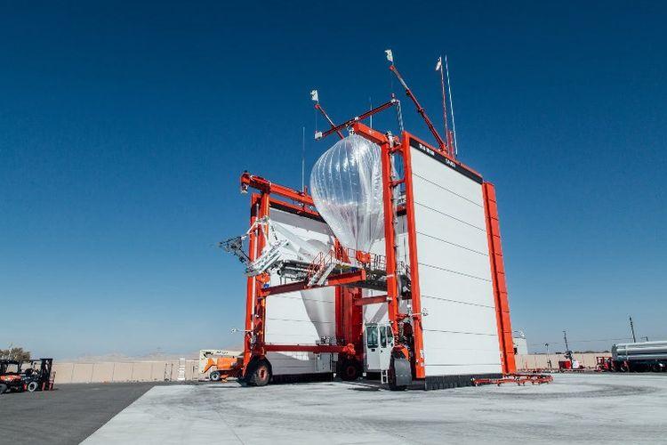 Proyek Balon Komunikasi Google, Balon Loon Siap Terbang dari Nevada