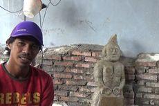 Arca di Pinrang Diangkat dari Tempat Penemuannya, Arkeolog Kesulitan Meneliti