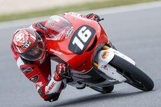 Pebalap Indonesia Mario Suryo Aji Finis Ke-4 di FIM CEV Moto3 Portugal 2021