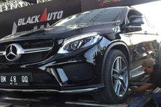Mercy GLE400 Juara Dyno Test Black Auto Battle Pekanbaru