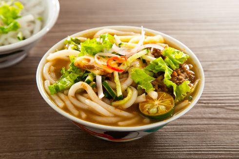 Resep Assam Laksa Khas Penang, Seafood Kuah Pedas Asam