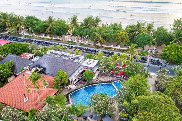 Hotel Kuta Seaview di Bali.