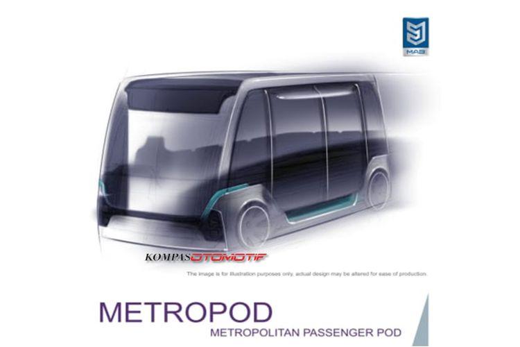 Metropod, ankot listrik MAB