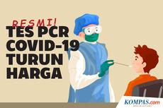INFOGRAFIK: Resmi, Tes PCR Covid-19 Turun Harga