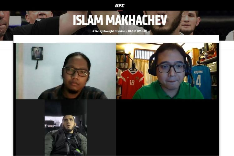 KOMPAS.com dan BolaSport.com punya kesempatan eksklusif untuk berbicara dengan Islam Makachev, petarung asal Dagesta, Rusia, yang akan menghadapi Drew Dober di UFC 259 pada Minggu (6/4/2021) tersebut.
