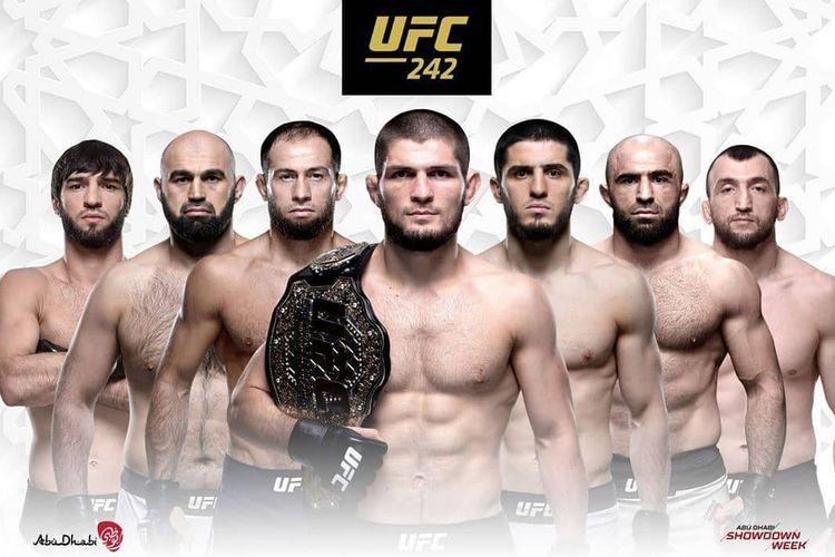 Duel Khabib Nurmagomedov vs Dustin Poirier akan menjadi event utama di UFC 242.