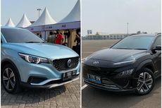 Adu Performa Mobil Listrik MG ZS EV dan Hyundai Kona EV