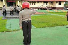 Mangkir Jaga Malam Natal, Polisi di Landak Dihukum Hormat Bendera 3 Jam Selama 6 Hari
