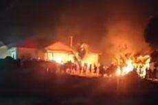 Kecewa Marak Begal, Massa Bakar Polsek Candipuro Lampung Selatan, Ini Kata Polisi