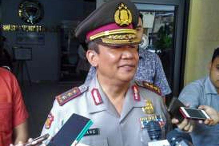 Kepala Badan Reserse Kriminal Polri Komjen Anang Iskandar.