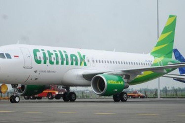 Pesawat Airbus A-320 terbaru Citilink.