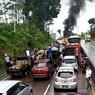 Mobil Terbakar di Tanjakan Bawen, Balita 10 Bulan Selamat, Ini Kronologinya