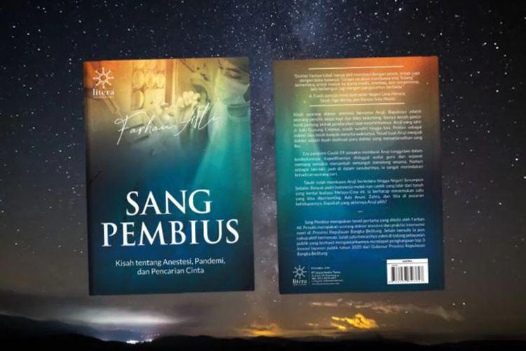 Novel Sang Pembius karya dokter di Bangka yang terbit saat pandemi Covid-19.
