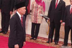 Jokowi Lantik Teten Masduki sebagai Kepala Staf Kepresidenan