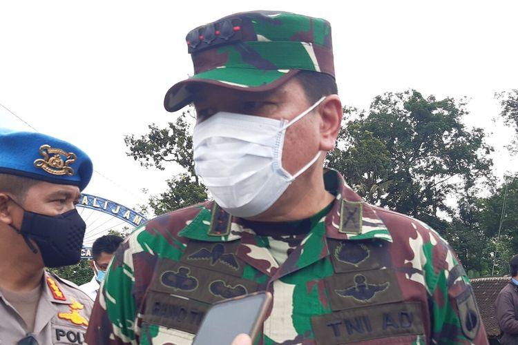 Danrem 074/Warastratama Surakarta, Kolonel Inf Rano Tilaar.
