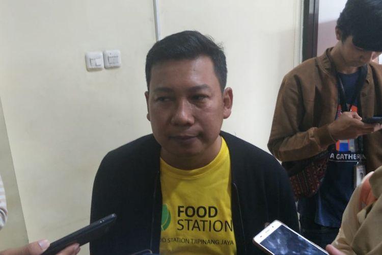 Direktur Utama PT Food Station Tjipinang Jaya Arief Prasetyo Adi di Toko Tani Indonesia Center, Jakarta Selatan, Minggu (9/2/2020).