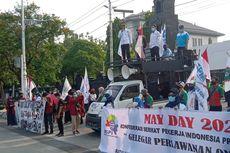 Sederet Aksi Peringati May Day di Kota Semarang, Vaksinasi hingga Ganjar Kunjungi Rumah Buruh