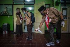 Kasus Covid-19 Melonjak, Uji Coba Belajar Tatap Muka di Jakarta Dihentikan
