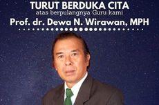 Guru Besar Ahli Epidemologi di Bali Meninggal karena Covid-19