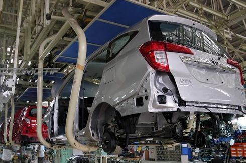 Terdampak Pandemi, Kapasitas Pabrik Daihatsu Anjlok