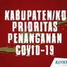 INFOGRAFIK: 12 Kabupaten/Kota Prioritas Penanganan Covid-19