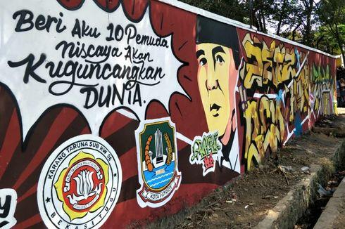 Keren, Tembok Kusam di Bekasi Ini Disulap Jadi Instagramable!