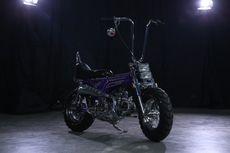 Honda Dax ST Custom Chopper Milik Gitaris Kotak, Tak Imut Lagi