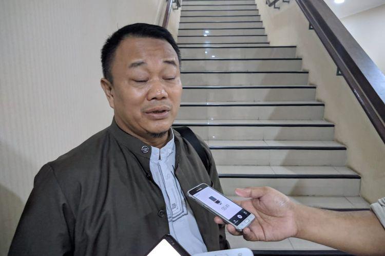 Ketua Komisi II DPRD Kota Tangerang, Syahroji saat ditemui di Kantor Pusat Pemerintah Kota Tangerang, Selasa (26/11/2019)