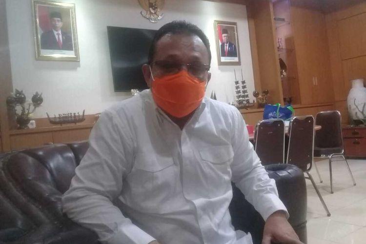 Kepala Dinas Perindustrian dan Perdagangan Provinsi Maluku, Elvis Pattiselano
