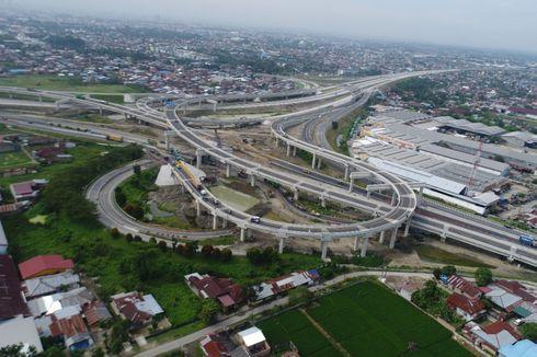 Tol Medan-Binjai Seksi 1B Dilintasi 5.125 Kendaraan Per Hari
