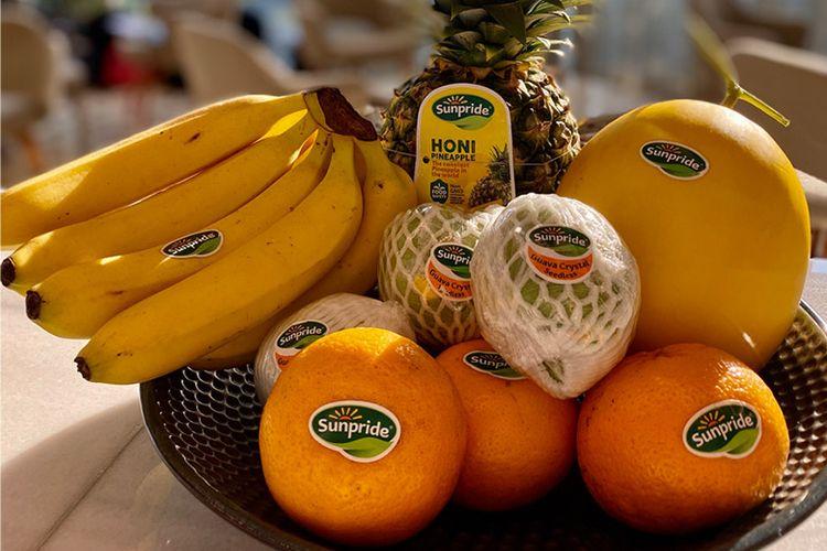 Buah-buahan dari Sunpride.