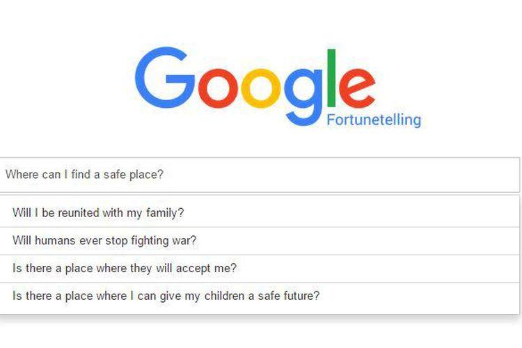 Google Fortune Telling sebenarnya bukan milik Google.