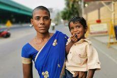 Ibu di India Ini Jual Rambut Rp 28.000 demi Beri Makan 3 Anaknya