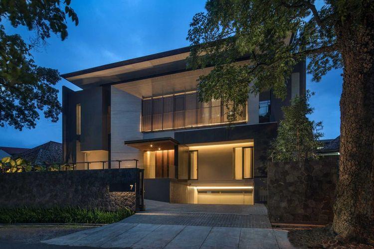 Rumah modern minimalis karya Rakta Studio