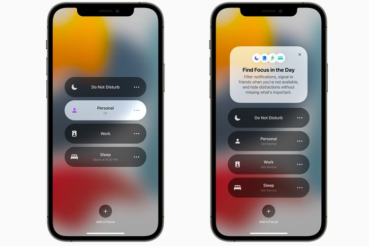 Focus Mode di iOS 15