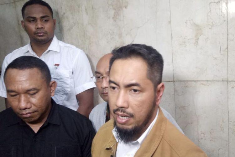 Sunan Kalijaga saat ditemui di Polda Metro Jaya, Jakarta Selatan, Kamis (14/11/2019).
