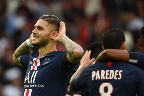 PSG Vs Angers, Mauro Icardi Ikuti Jejak Kylian Mbappe