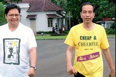 [HOAKS] Jokowi Kenakan Kaos Bertuliskan Aica Aibon