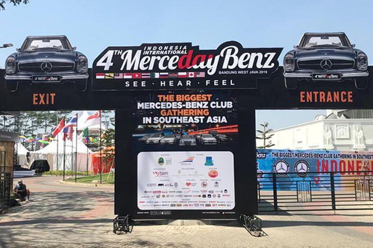 Merceday Benz Indonesia International ke-4