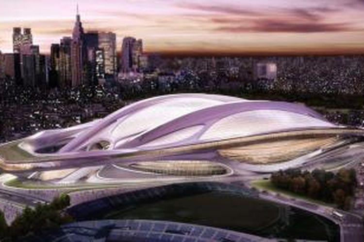 The Japan Sports Council, badan pemerintah yang menyelenggarakan kompetisi desain itu, telah mengurangi dana yang disetujui untuk proyek tersebut dari senilai 300 miliar yen atau Rp 35 triliun lebih menjadi 169 milyar yen atau sekitar Rp 19 triliun lebih.