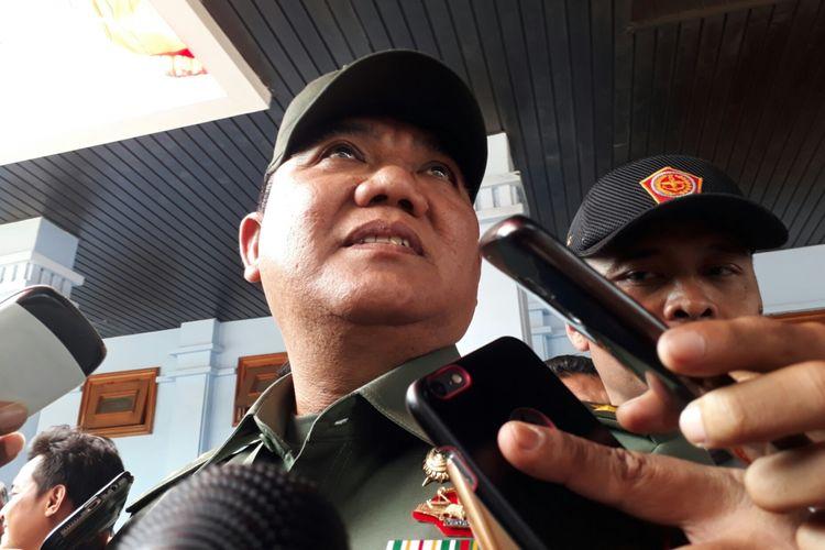 Komandan Pusat Polisi Militer Mayor Jenderal TNI Dodik Wijanarko, Kamis (24/8/2017).