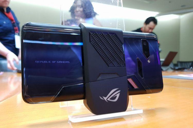 ASUS ROG Phone diperkenalkan 4 Juni 2018 dalam ajang Computex 2018 di Taipei.