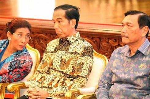 Beda dengan JK dan Luhut, Jokowi Dukung Susi Terus Tenggelamkan Kapal