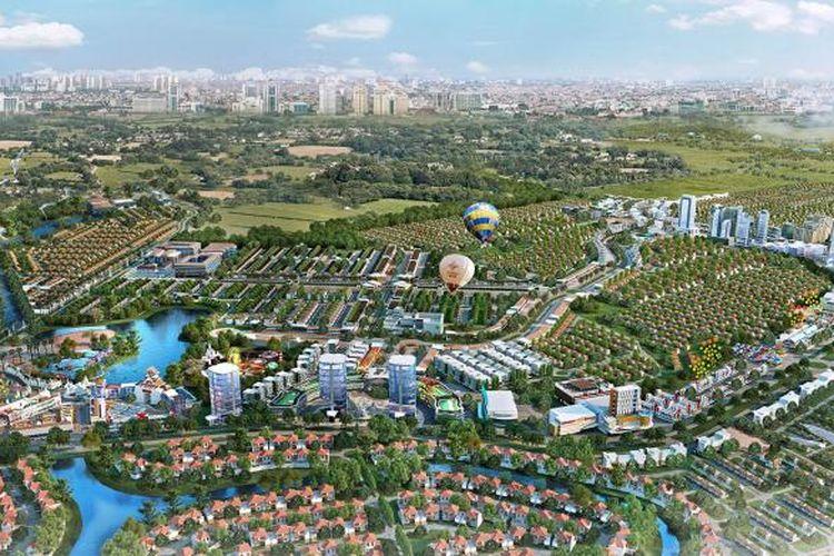 Rancangan induk CitraRaya, Tangerang.