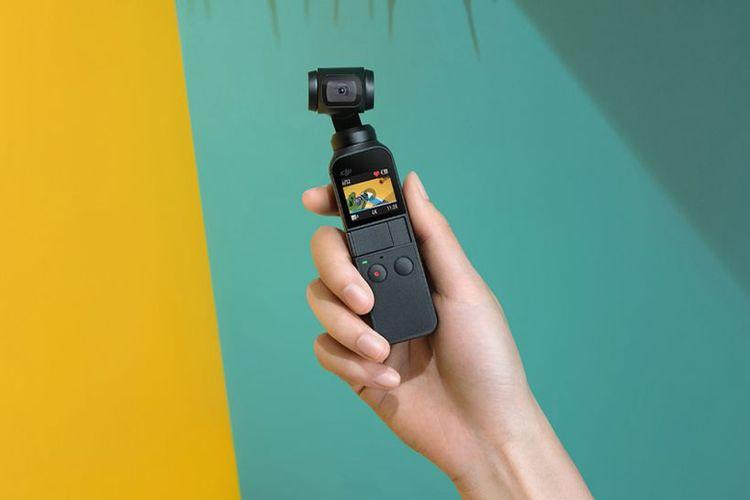 DJI merilisi Osmo Pocket, kamera gimbal berukuran ringkas yang bisa masuk dalam saku celana.